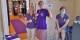 """Au milieu, la 1000e visiteuse de l'exposition """"Prince"""", s'est vu remettre un T-Shirt """"collector"""". Foto: Eurojournalist(e)"""