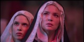 La sœur Benedetta, personnage aussi énigmatique que le film du même nom... Foto: Guy Ferrandis / SBS Productions