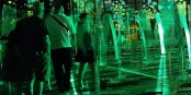 """Die Besucher des abendlichen """"Son & Lumière""""-Spektakels in Strassburg staunen und geniessen... Foto: © Eurojournalist(e)"""