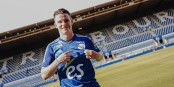 Kevin Gameiro hat viel mit seinem neuen Verein vor... Foto: Racing Club de Strasbourg