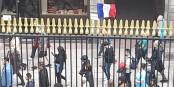 Zehntausende protestierten am Nationalfeiertag gegen Präsident Macron... Foto: Eurojournalist(e) / CC-BY 2.0