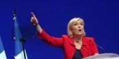 """Marine Le Pen veut le """"divorce"""" entre Paris et Berlin. Pour se jeter dans les bras de Boris Johnson. Foto: Jérémy Günther-Heinz Jähnick / Wikimedia Commons / GNU 1.2"""