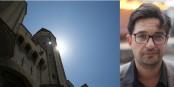 Tiago Rodrigues, premier directeur non-français du Festival d'Avignon, en assurera la défense et la promotion à compter de 2022. Foto:  Blacky / CC-BY-SA 3.0 + Éric Schrijver / CC-BY-SA 4.0int / Wikimedia Commons pour les deux