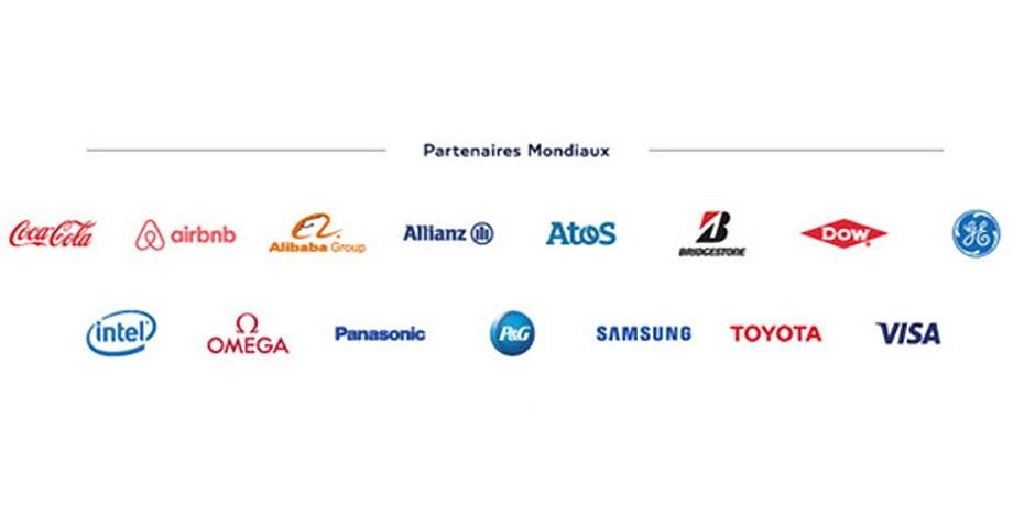 Das sind die Finanzpartner des IOC, die ebenso wie die Verbände ordentlich Gewinne mit diesen Olympischen Spielen erzielen wollen. Foto: https://cnosf.franceolympique.com
