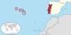 Santa Maria, île la plus au sud-est de l'archipel, bondit dans le XXIeme siècle en devenant un site clef de l'Agence Spatiale Portugaise. Foto: TUBS / Wikimedia Commons / CC-BY-SA 3.0