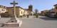 La place principale de Brieva sur laquelle les habitants prennent plaisir à lire des textes à voix haute. Foto: Malopez 21 / Wikimedia Commons / CC-BY-SA 4.0int