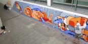Street Art im Eurodistrikt Strasbourg-Ortenau - eine tolle Kunstaktion, die Freude macht! Foto: Eurodistrikt Strasbourg-Ortenau / Andreas Kampa