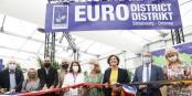 Jede Menge Politik-Prominenz bei der Eröffnung des Stands des Eurodistrikts Strasbourg-Ortenau. Foto: (c) Jérôme Dorkel / ED