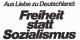 Das war der Wahlkampf-Slogan der CDU 1976. Von diesem Niveau sind wir nicht mehr weit entfernt... Foto: KAS - CDU / Wikimedia Commons / CC-BY-SA 3.0de