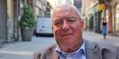 """Jacques Zucker, le sourire malgré tout. """"On ne se lamente pas""""... Foto: Eurojournalist(e)"""