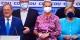 Pendant que le résultat catastrophique de la CDU semble amuser Armin Laschet (à gauche), Angela Merkel paraît déjà plus soucieuse... Foto: ScS EJ