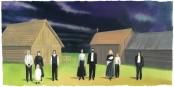 Stiffelio, Verdis große Unbekannte über den altbekannten Konflikt zwischen Gerechtigkeit und Vergebung in der Rheinoper. Foto: Plakat zur Oper Ausschnitt / Opéra National du Rhin