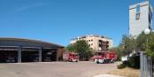 A l'issue de sa formation de pompier professionnel, Nicanor sera affecté à un centre de secours, comme par exemple le « Parque de Bomberos de Mairena del Aljarafe » dans le sud du pays. Foto: Carlos VdeHabsburgo / Wkimedia Commons / CC-BY-SA 4.0int