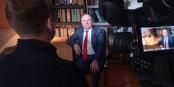 """Professor Olivier Védrine, Chefredakteur des """"The Russian Monitor"""". Foto: Olivier Védrine"""