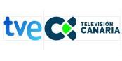 Les principales chaînes de télévision, du continent comme de l'archipel, suivent l'évolution de l'éruption de la Cumbre Vieja avec attention. Foto: TVE /  Radio Televisión Canaria / Wikimedia Commons /  CC-BY-SA 3.0 et 4.0int