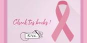 La sensibilisation au cancer du sein passe aussi par des T-shirts ! Belle action ! Foto: Au fil de...